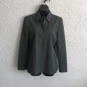 LOFT green/grey jacket.